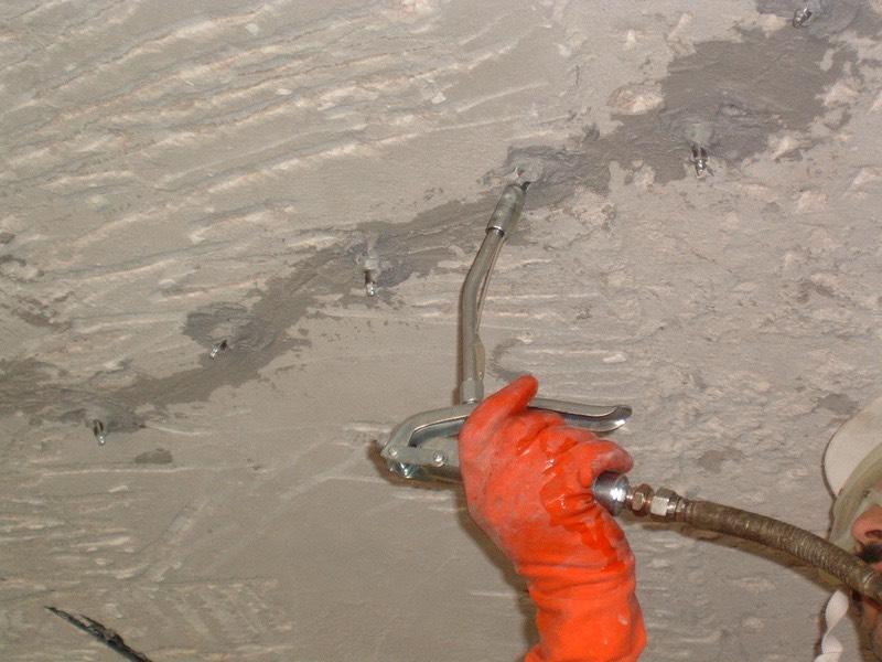 Epoksi enjeksiyon ile beton çatlak onarımı