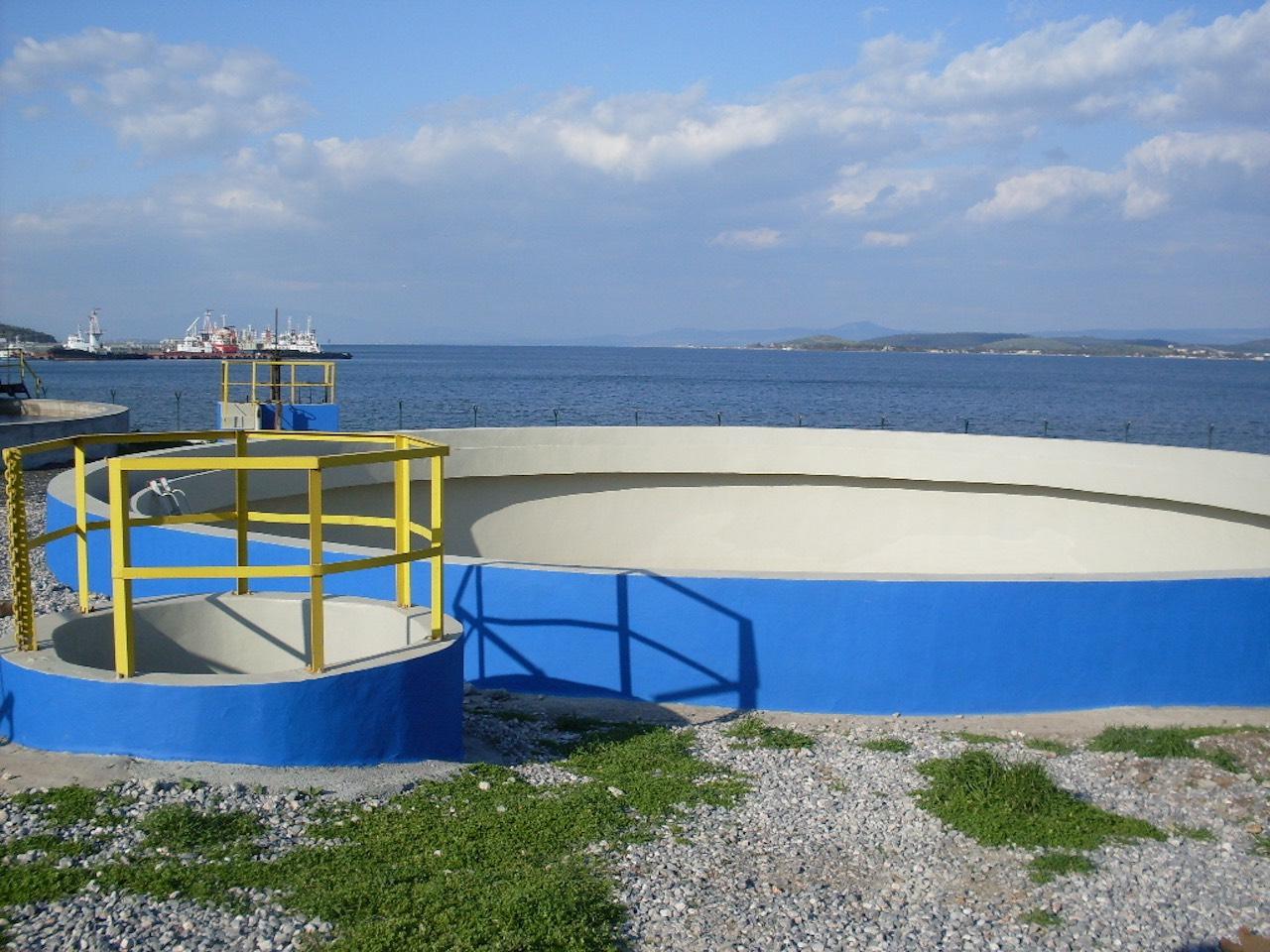 Arıtma havuzu onarım ve kaplaması