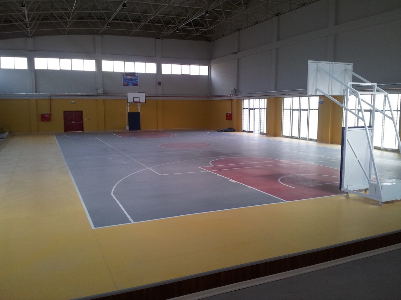 Anahtar teslim spor salonu inşaatı