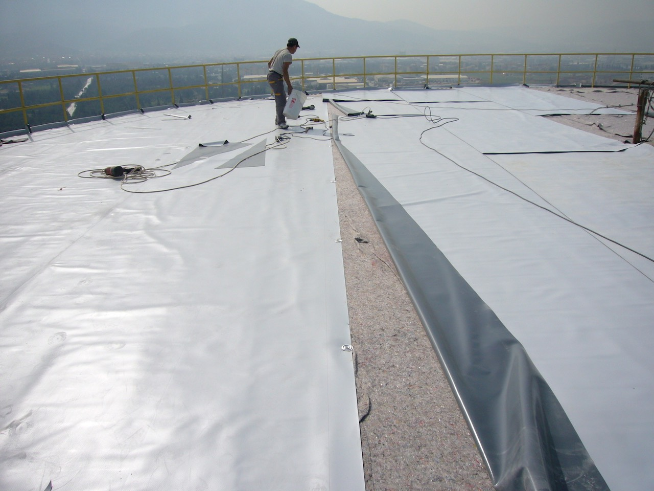 PVC membran ile su izolasyonu