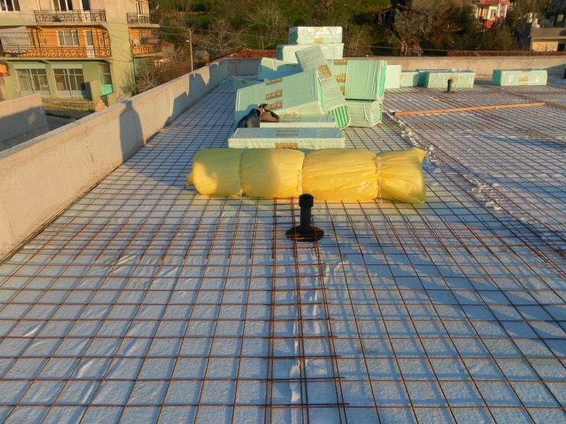 Teras çatı ısı izolasyonu