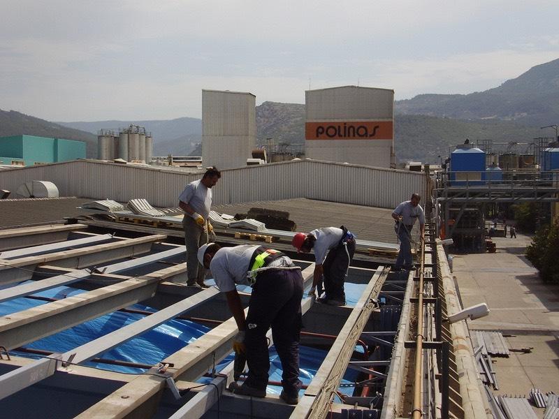 Prefabrik çatı güçlendirmesi