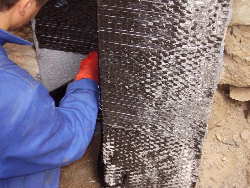 Karbon lifli malzemeler ile kolon güçlendirmesi