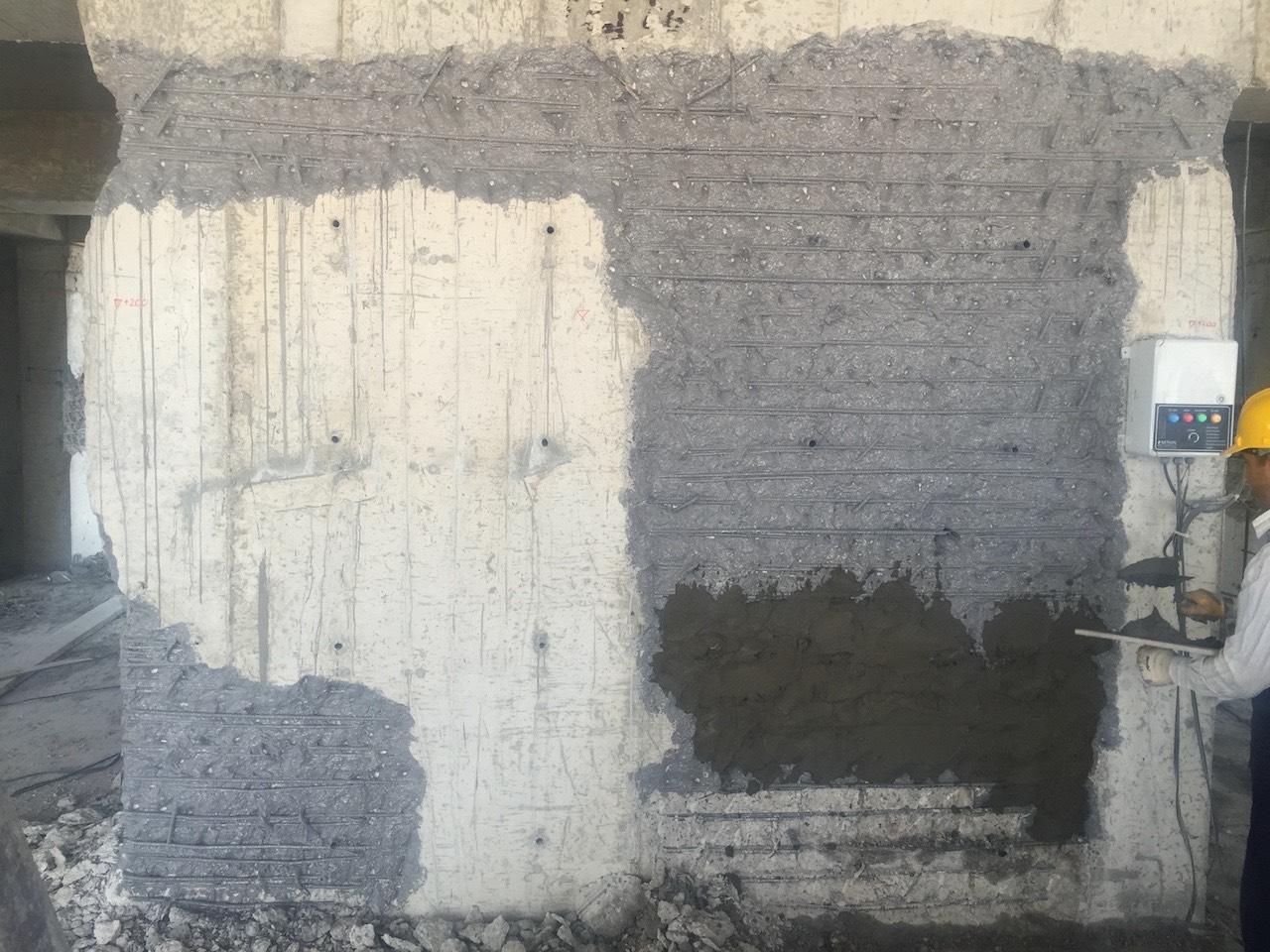 Betonarme elemanlarda onarım yapılması
