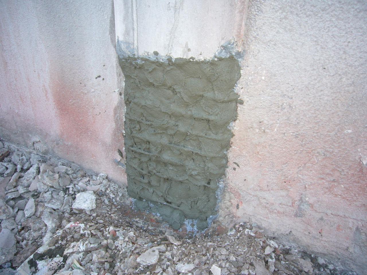 Kolonlarda korozyon ve beton onarımı
