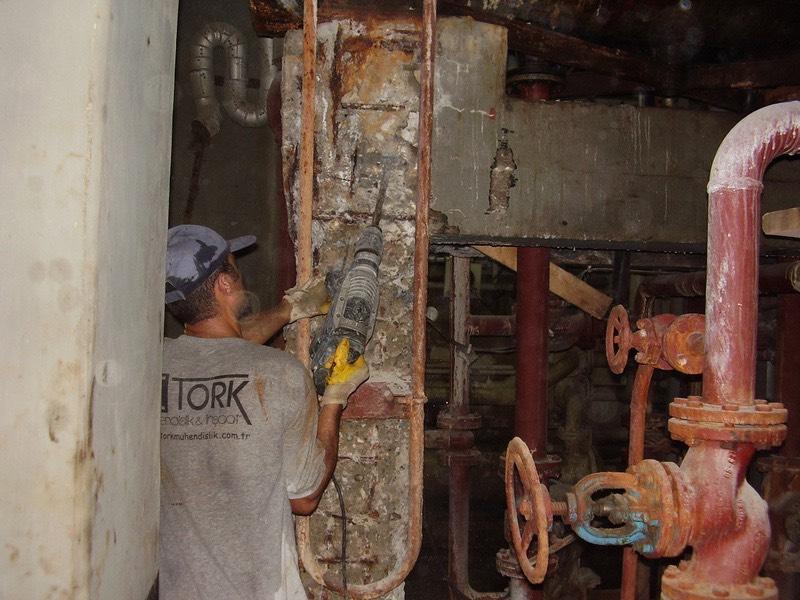 Hasarlı beton onarımı