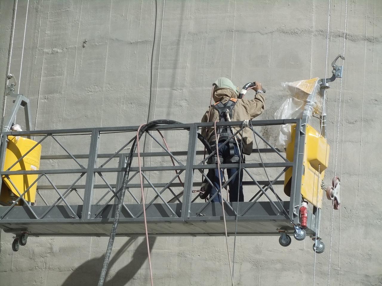 Çimento silosu dış çephe onarımı