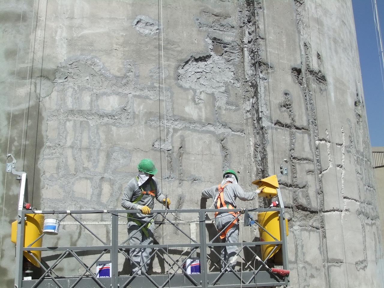 Çimento silosu onarımı ve kaplaması
